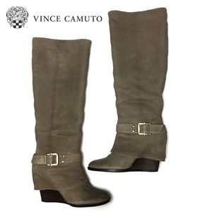 VINCE CAMUTO Alician Tall Wedge Boots